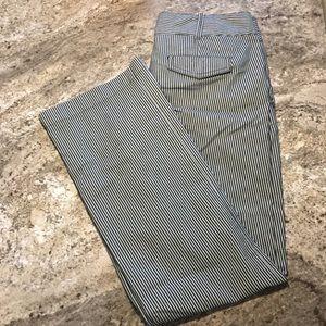 Loft pinstripe trousers size 4p